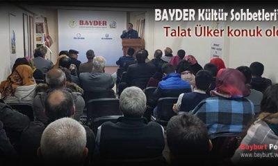 BAYDER Kültür Sohbetleri'nde Talat Ülker