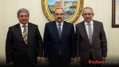 Ahmet Emre Bilgili ve Celil Güngör'den Ustaoğlu'na ziyaret
