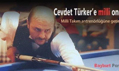 Cevdet Türker'e milli onur