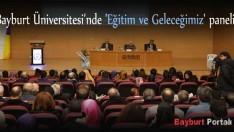 'Eğitim ve Geleceğimiz' paneli