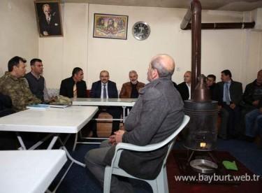 Vali Ustaoğlu'ndan Harmanözü Köyü'ne ziyaret