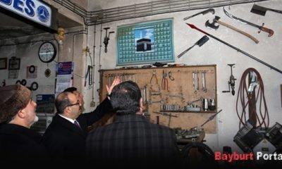 21 Şubat Sanayi Sitesi'ne ziyaret