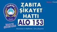 Alo 153 Zabıta Şikayet Hattı Hizmete Başladı