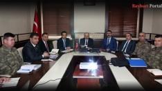 """""""Halkoylaması Güvenlik Toplantısı"""" yapıldı"""