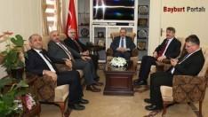 Müsteşar Yardımcısı Yıldırımhan'dan Ustaoğluna ziyaret