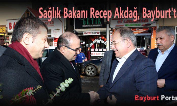Sağlık Bakanı Recep Akdağ, Bayburt'ta