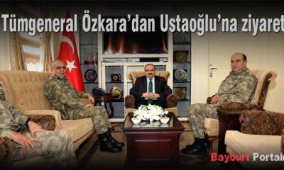 Tümgeneral Özkara'dan Ustaoğlu'na ziyaret