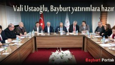 Vali Ustaoğlu, Bayburt yatırımlara hazır