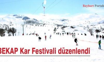 BEKAP Kar Festivali düzenlendi