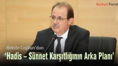 'Hadis – Sünnet Karşıtlığının Arka Planı' Konferansı