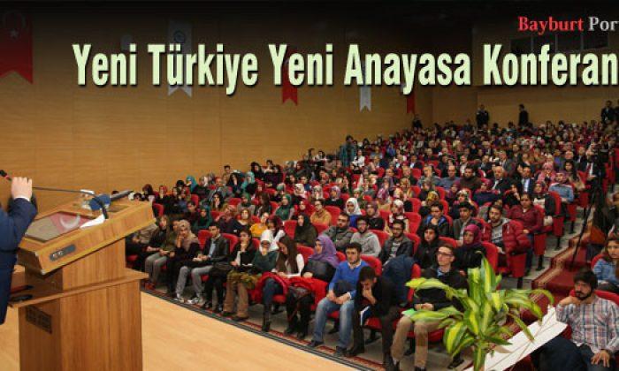 Yeni Türkiye Yeni Anayasa Konferansı