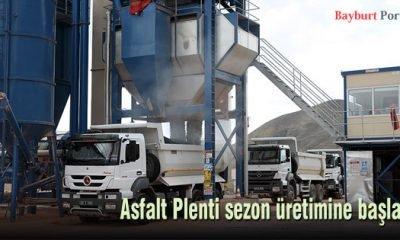 Asfalt Plenti sezon üretimine başladı