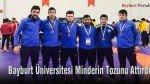 Bayburt Üniversitesi, minderin tozunu attırdı