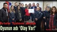 Tiyatroom'dan 'Polis Haftası' sürprizi