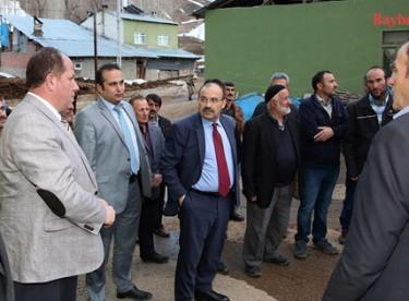 Vali Ustaoğlu'ndan köy ziyaretleri