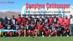 Amatör Lig Şampiyonu Çatıksuspor