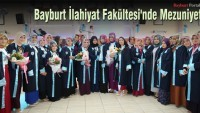 Bayburt İlahiyat Fakültesi'nde Mezuniyet