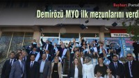 Demirözü MYO ilk mezunlarını verdi
