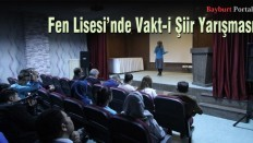 Fen Lisesi'nde Vakt-i Şiir Yarışması