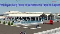 Hayvan Satış Pazarı ve Mezbahanenin Yapımına Başlandı