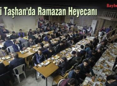 Tarihi Taşhan'da Ramazan Heyecanı