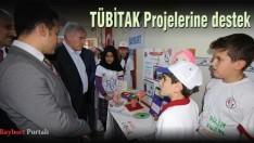 Belediye Başkanı Memiş'ten TÜBİTAK Projelerine destek