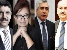 Ak Parti'de liste dışı kalan isimler