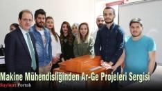 Makine Mühendisliğinden Ar-Ge Projeleri Sergisi