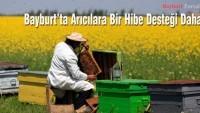 Bayburt'ta Arıcılara Bir Hibe Desteği Daha