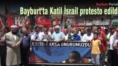 Bayburt'tan İsrail'e tepki