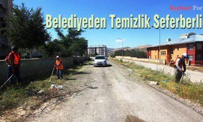 Belediyeden Temizlik Seferberliği