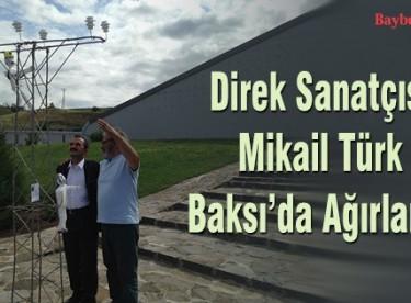 Direk Sanatçısı Mikail Türk Baksı'da ağırlandı