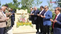 Miralay Sabri Bey'in Kabri Ziyaret Edildi