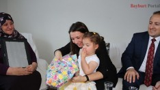Vali Ali Hamza Pehlivan, şehit ailesini ziyaret etti