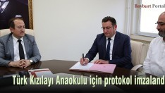 Türk Kızılayı Anaokulu protokolu imzalandı