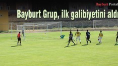Bayburt Grup, ilk galibiyetini aldı