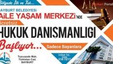 Bayburt'ta ücretsiz hukuk danışmanlığı hizmeti