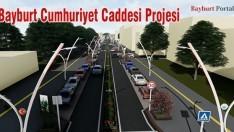 Bayburt Cumhuriyet Caddesi Projesi