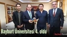 Bayburt Üniversitesi 4. oldu