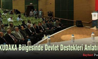KUDAKA Bölgesinde Devlet Destekleri Anlatıldı