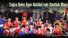 Tuğra Boks Spor Kulübü'nde Dostluk Maçı