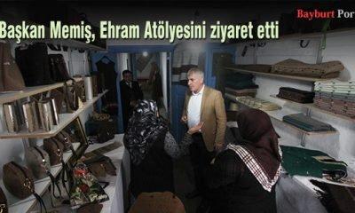 Başkan Memiş, Ehram Atölyesini ziyaret etti