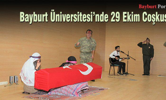 Bayburt Üniversitesi'nde 29 Ekim Coşkusu