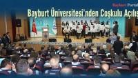 Bayburt Üniversitesi 2017-2018 Akademik Yıl Açılış Töreni
