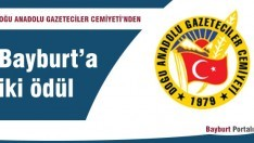 Doğu Anadolu Gazeteciler Cemiyeti'nden Bayburt'a iki ödül
