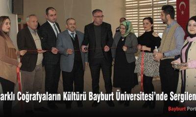Bayburt Üniversitesi'nde farklı coğrafya kültürleri