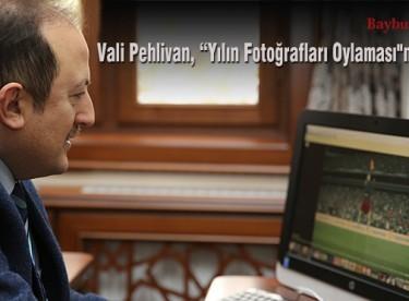 """Vali Pehlivan, """"Yılın Fotoğrafları Oylaması""""na katıldı"""