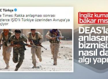 İngilizler DEAŞ konusunda Türkiye'yi suçladı