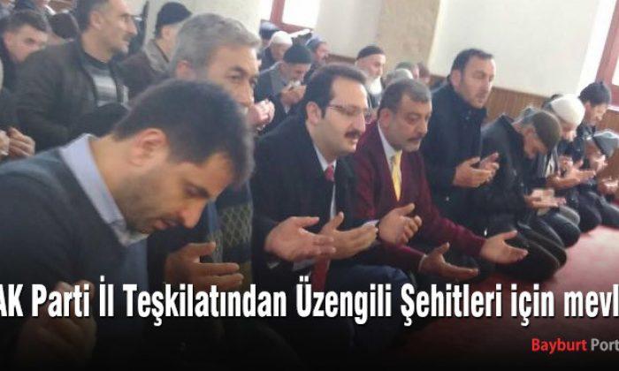 AK Parti İl Teşkilatından Üzengili Şehitleri için mevlit