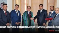 Afganistan Jawzjan Üniversitesi ile protokol